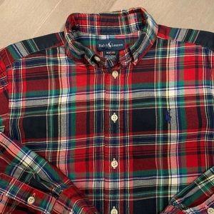Ralph Lauren button down shirt boys